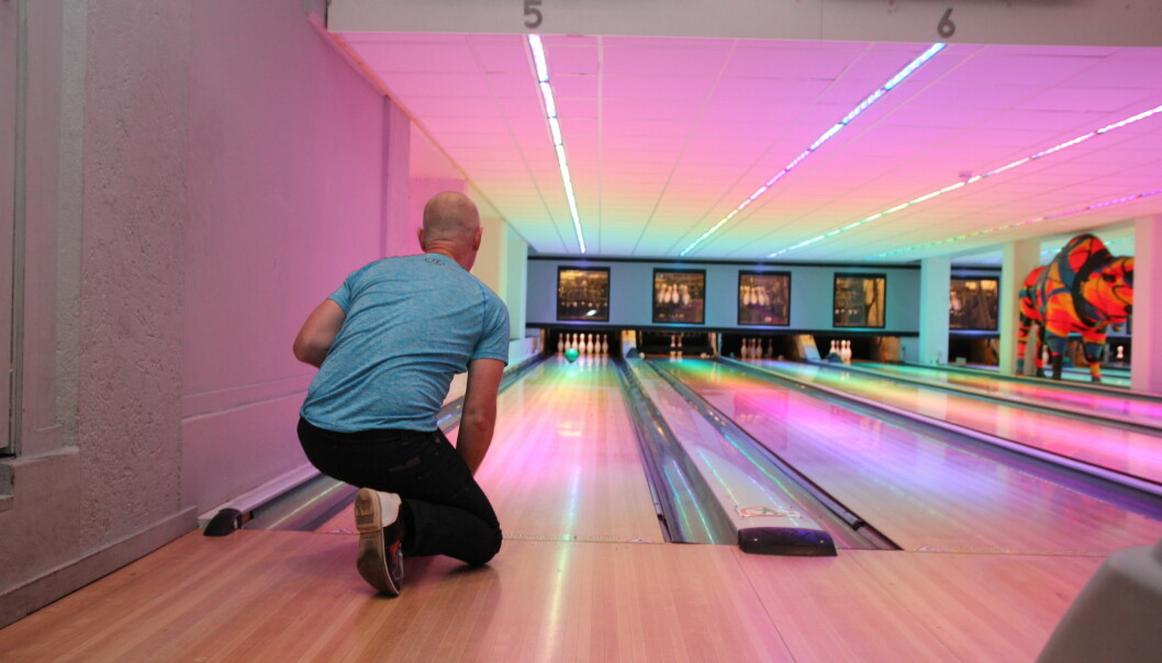 Bowling med Bamseklubben. Foto: Betzy A. K. Thangstad.