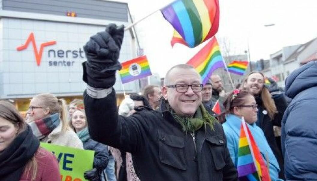 – Paraden ble en folkefest, og folk koste seg. Det er slik vi vil ha det, sier festivalsjef Stein Sebastian Fredriksen (Foto: Lars Åke Andersen)