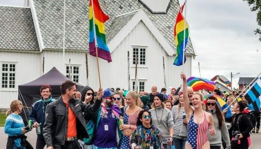 Træna Pride 2016 (Foto: Atila Sbruzzi)
