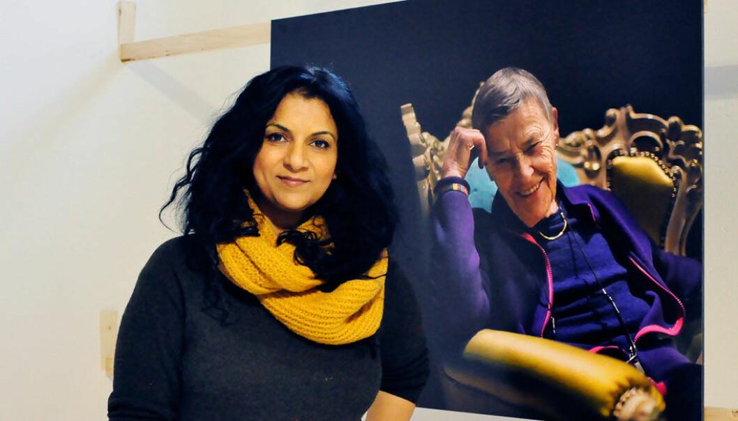 Fotojournalist Iffit Qureshi står bak utstillingen Aktivistene.