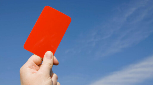 Homohets gir rødt kort