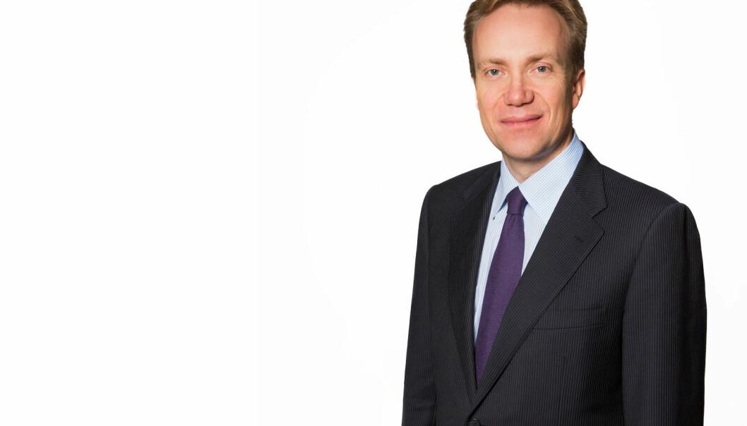 Utenriksminister Børge Brende. Foto: Sjøwall/Utenriksdepartementet.