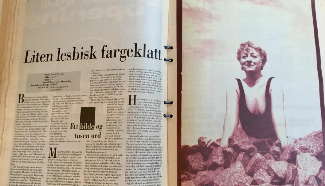 Faksimile Blikk nr. 5, 1997