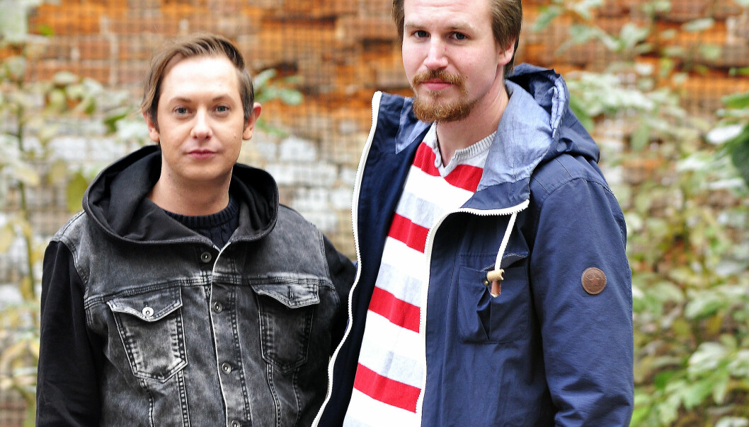 Kristian Domenic Blix og Roy Andre Larsen. Foto: Reidar Engesbak.