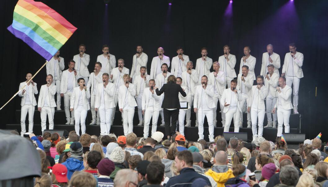 Oslo fagottkor på Trænafestivalen (foto: Pål Bikset)