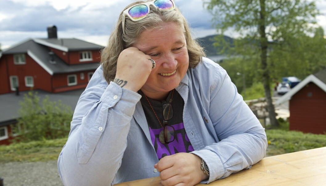 Merethe Lindstad. Foto: Linn Kristin Nordseth.