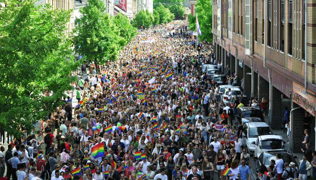 Oslo Pride-paraden 2017. Foto: Reidar Engesbak.