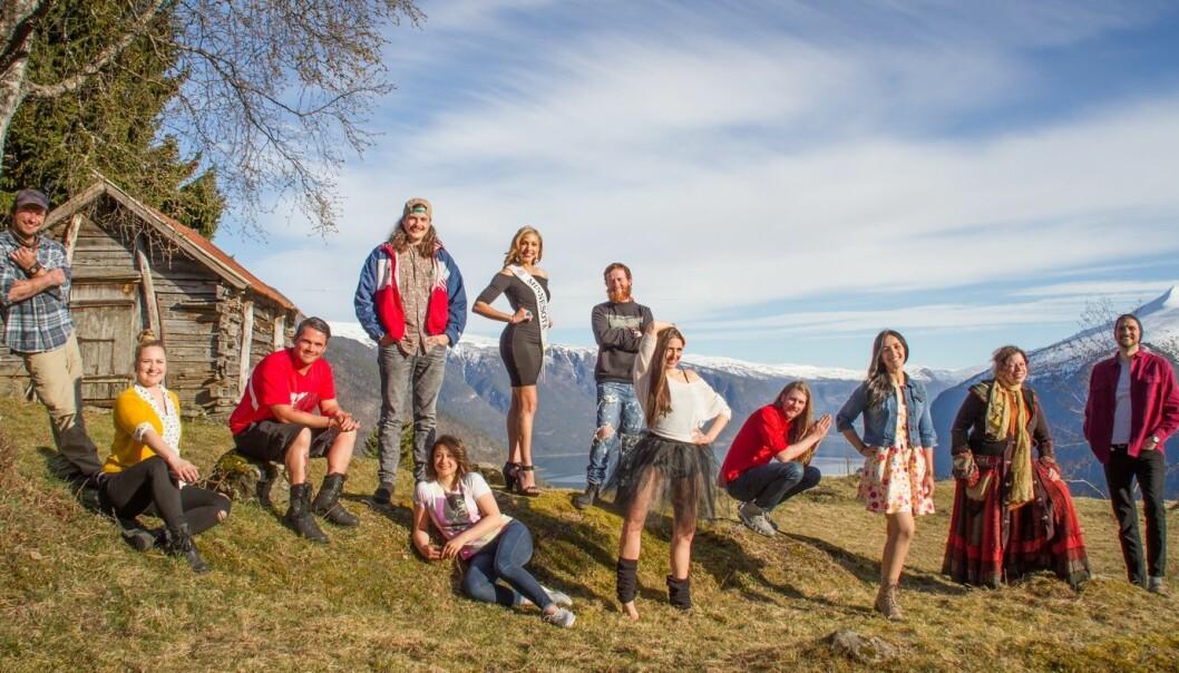 Deltakerne i «Alt for Norge» sesong 8. Foto: Tormod Leet.