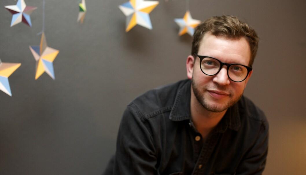 Erik Eikehaug. Foto: Linn Kristin Nordseth.
