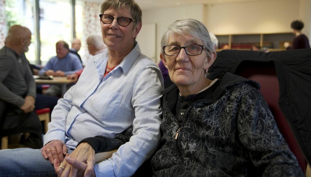 Solvår Foss og Brit Lie. Foto: Linn Kristin Nordseth.