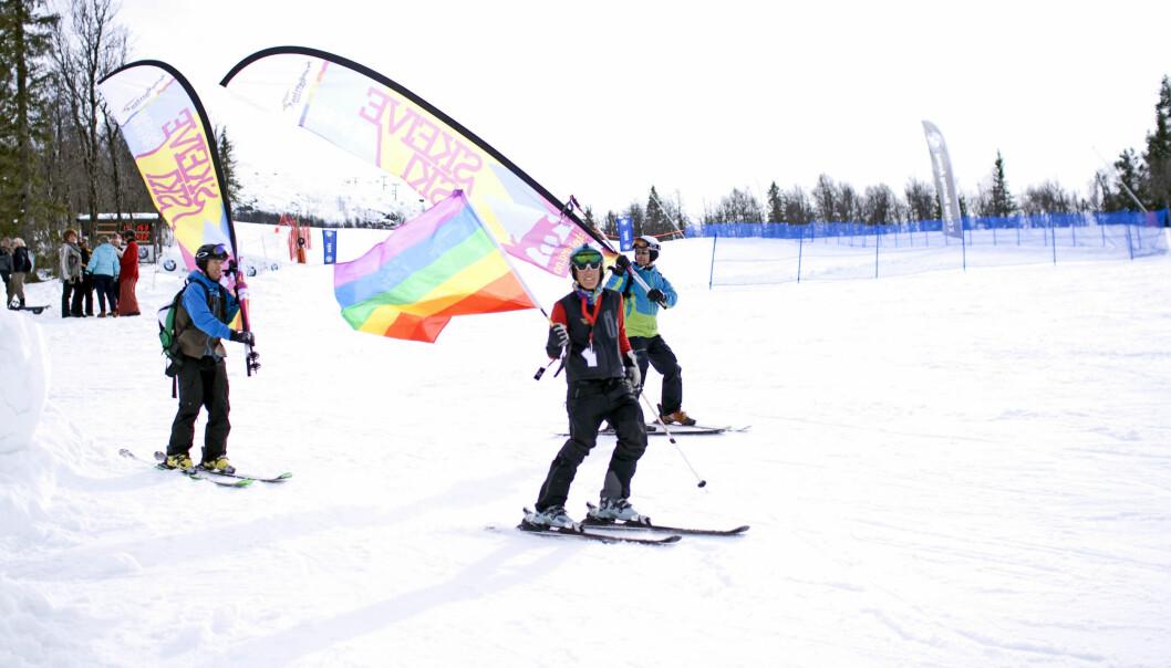 Skeive ski. Foto: Karin Villemo Berg Furunes.