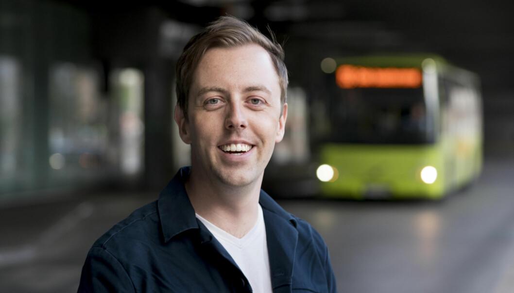 Nicholas Wilkinson, stortingsrepresentant for Akershus SV og medlem av helse- og omsorgskomiteen. Foto: Morten Brun/SV.
