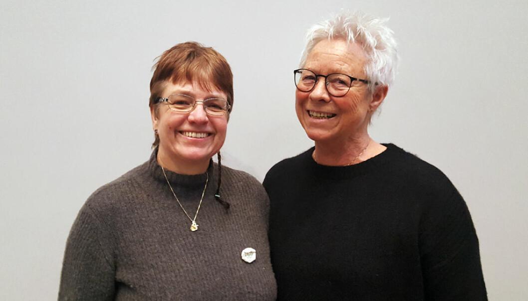 Jorun og Åse Hagelund. Foto: Linda Rønold.