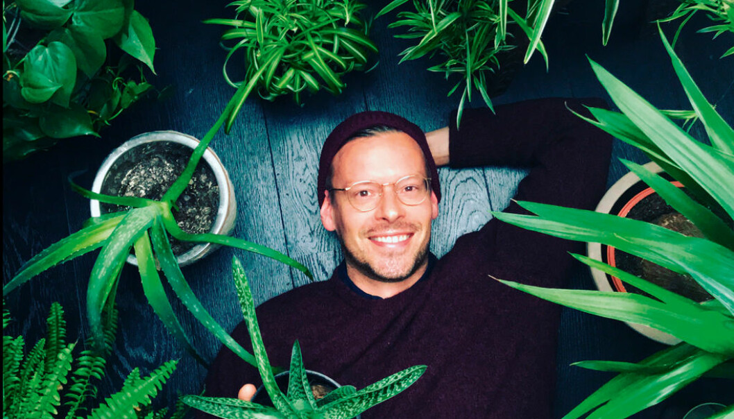 Sexolog og terapeut Anders Røyneberg er også kjent som Instagram-profilen Arctic gardener. Foto: Privat.