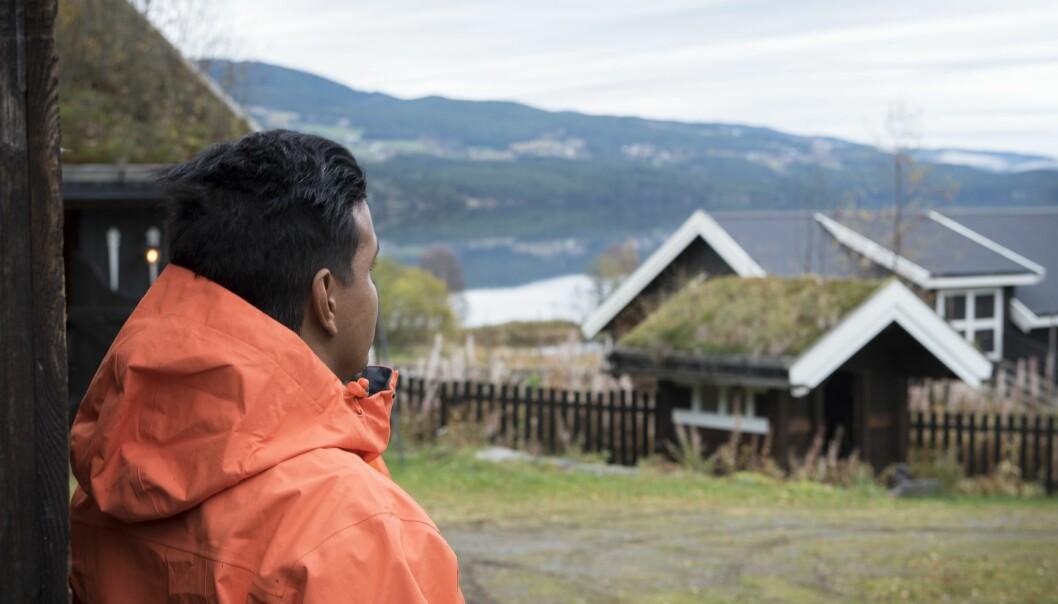 Nylig flyttet Sebastian Camacho tilbake til stillheten og roen i Valdres etter mange år i Oslo.
