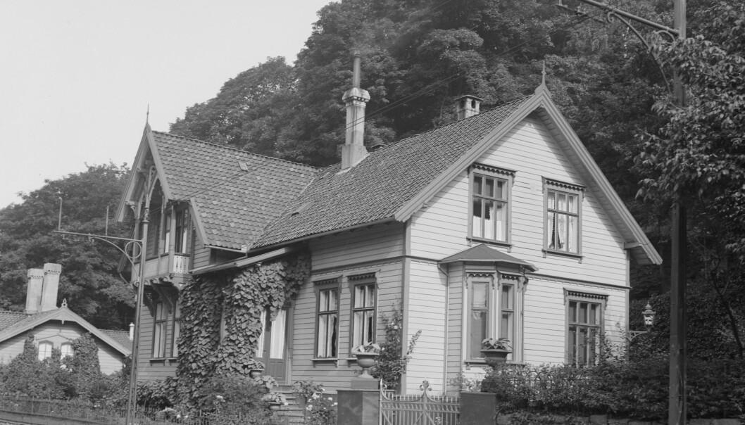 Ranhuset i Bergen. Foto: Skeivt Arkiv.