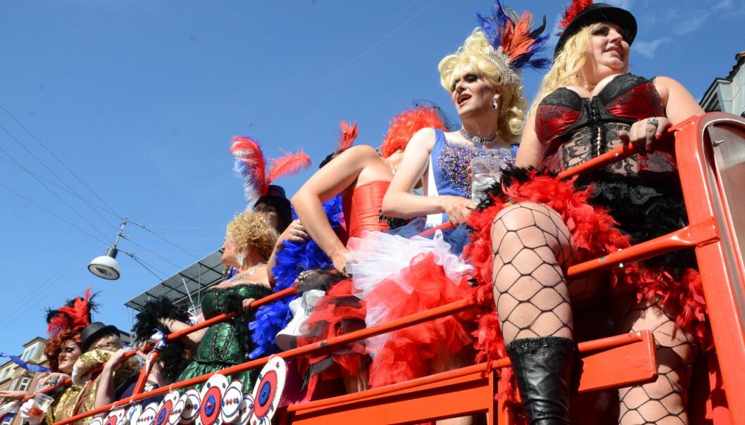 Copenhagen Pride 2013. Foto: Tron Hirsti.