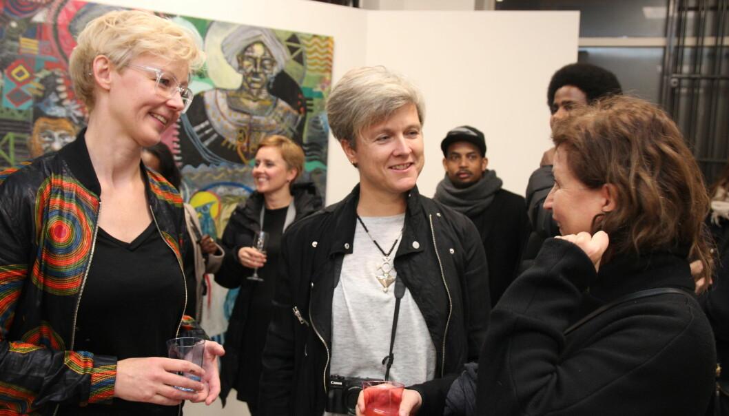 Henriette Stensdal og Vibeke Hermanrud. Foto: Betzy Thangstad.
