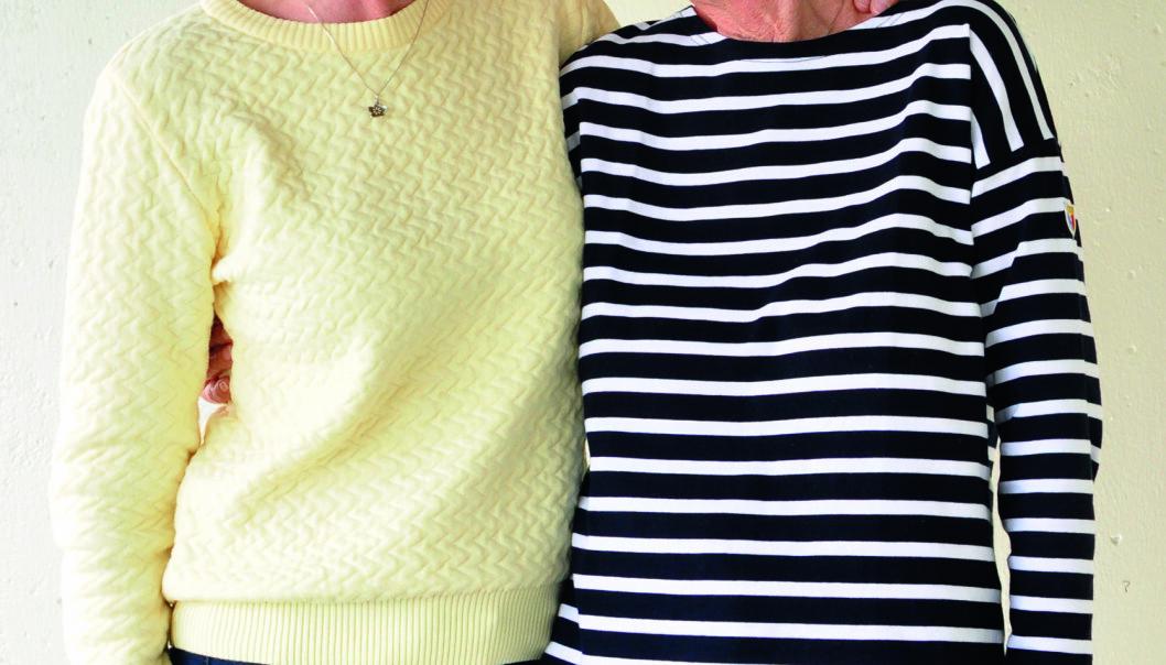F.V.: Karin Enderud (70), barnevernspedagog, nå pensjonist. Grethe Slettvoll (73), lærer, nå pensjonist. Foto: Reidar Engesbakk