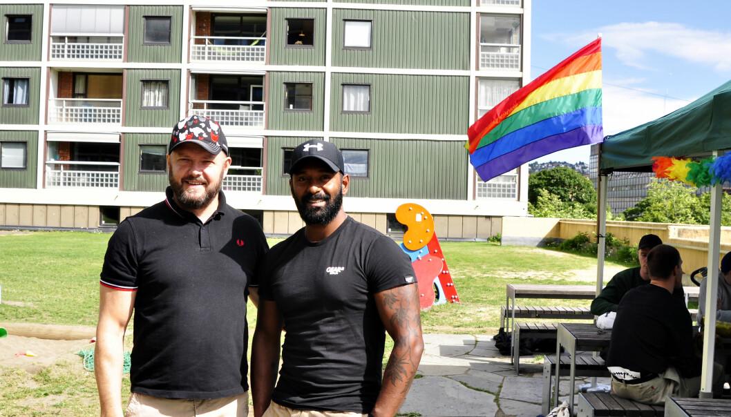 Sigve og Bjarte Sandvik Lærdal. Foto: Reidar Engesbak.
