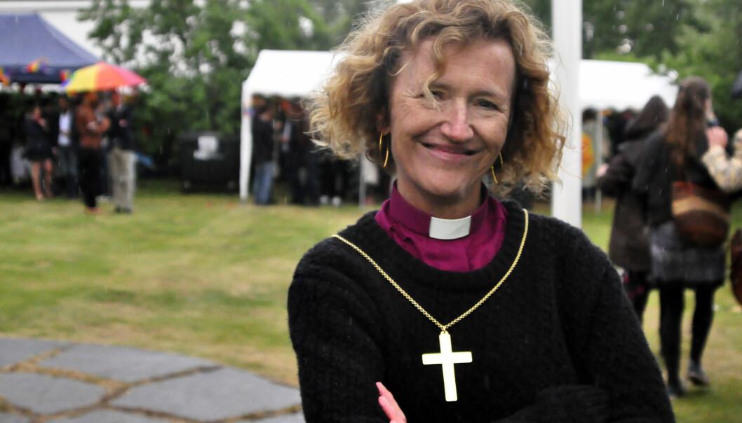 Biskopen i Oslo, Kari Veiteberg. Foto: Reidar Engesbak