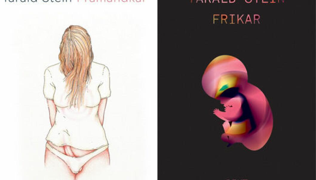 Tarald Stein (1977) er forfatter og transmann. Diktsamlingene Framandkar (Tiden, 2008) og Frikar (Tiden, 2010) var de første skjønnlitterære skildringene av transtematikk på norsk. I 2014 kom den erotiske novellesamlinga Sprik som ebok på eget forlag.