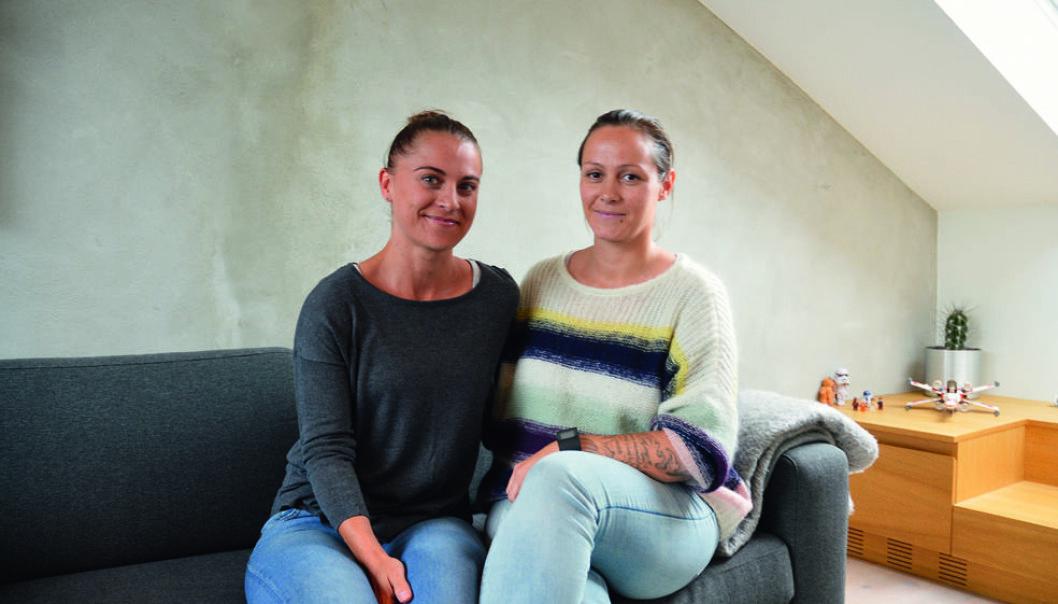 Maria Flores Adamsen og Sofie Castillo Vik. Foto: Jenny Johannes K. Jacobsen.