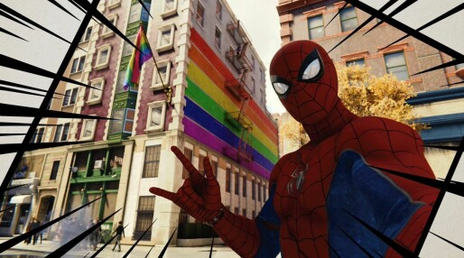 Spider-Man feirer Pride