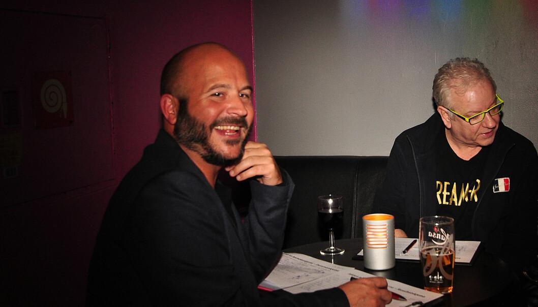 Juryformann Jon Reidar Øyan og jurymedlem Morten Rudå. Foto: Reidar Engesbak.
