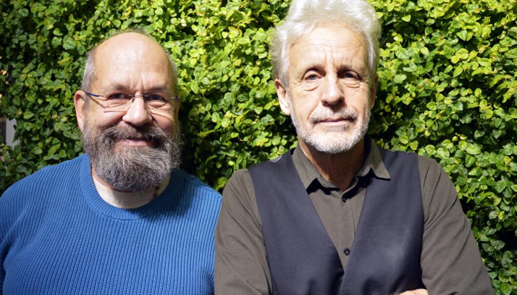 Anders Rogg og Terje Nordby. Foto:  Jenny Johannes Kaikumo Jacobsen.