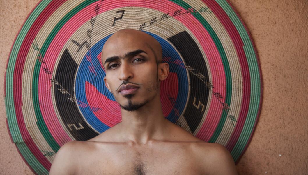 Selvportrett Ahmed Umar.