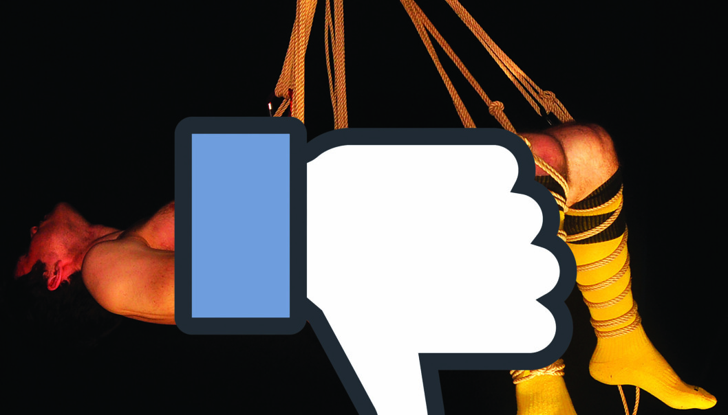 Skriver du «lyst å ha det gøy i kveld» på Facebook kan du havne i trøbbel. Foto: Reidar Engesbak.
