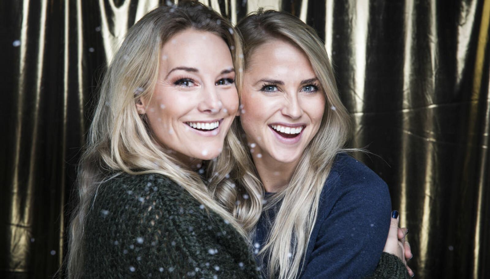 Tonje Frøystad Garvik (t.h) og Lene Sleperud har vært høstens heiteste par på tv-skjermen i realityserien «Farmen». I åtte uker klarte de å holde forholdet sitt hemmelig for de andre deltakerne.