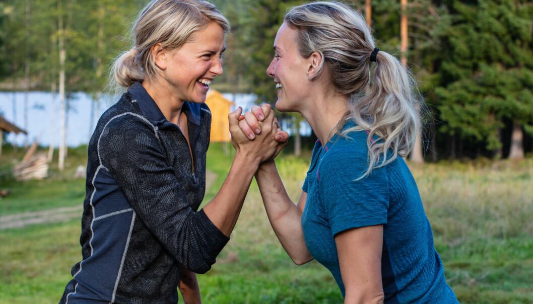 Tonje Frøystad Garvik og Lene Sleperud. Foto: TV 2.