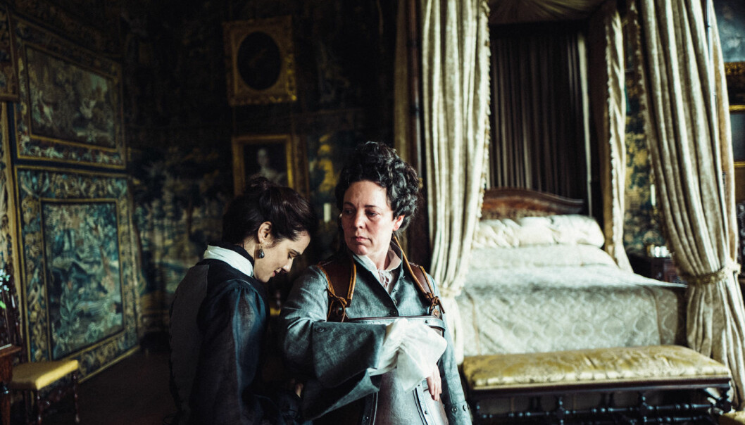 Rachel Weisz og Olivia Colman i «The Favourite». Foto: Twentieth Century Fox Film.