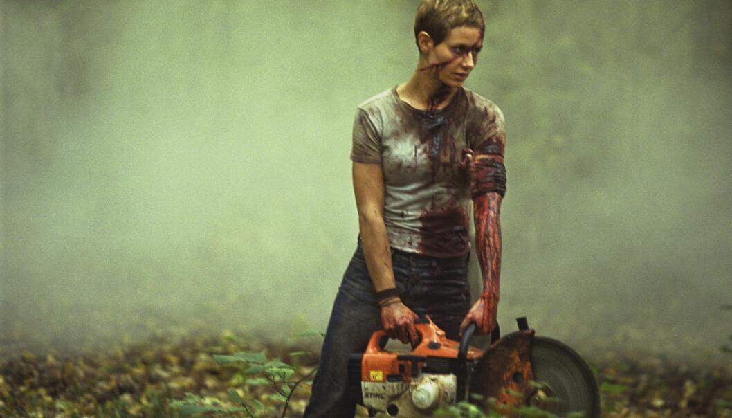 Cécile de France i filmen «High Tension» er en av Brita Møystad Engseths lesbefavoritter.