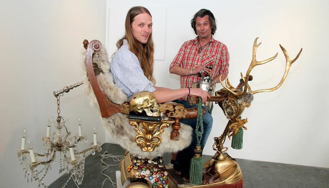 Frederick Nathanael og Vegard Øidvin. Foto: Betzy A K Thanstad.