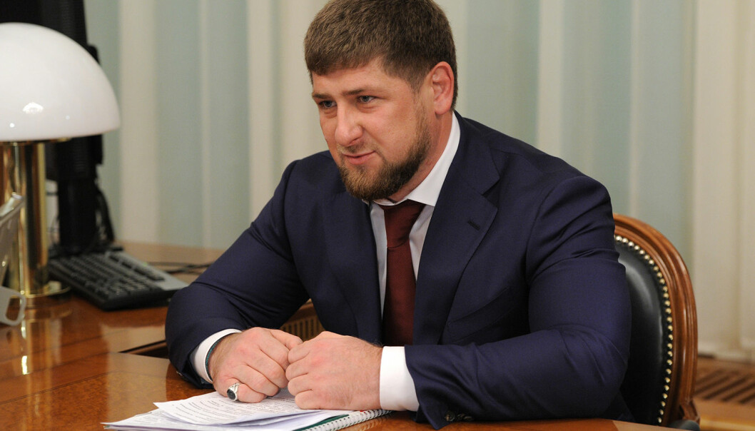 Ramzan Akhmadovitsj Kadyrov.