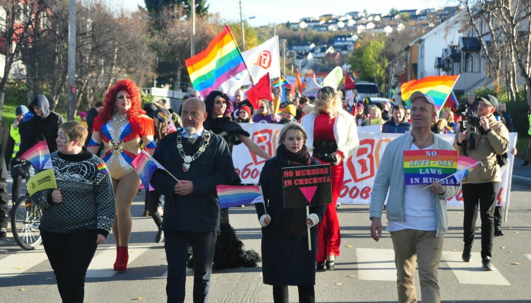 Barents Pride 2018. Foto: Reidar Engesbak.