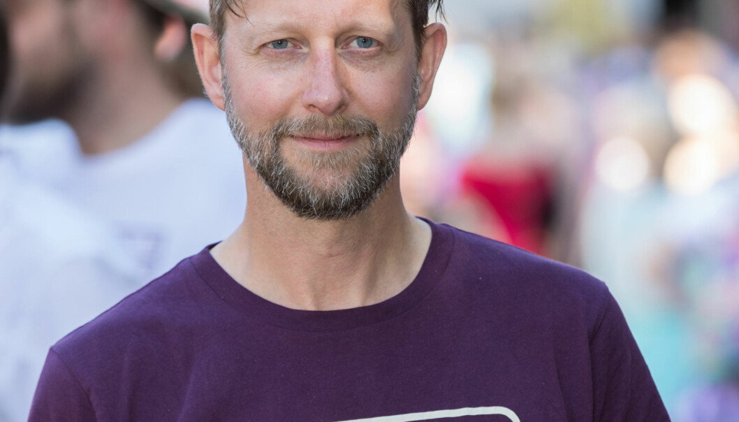 Helge Ytterøy Lorange. Foto: Hans Kristian Thorbjørnsen.