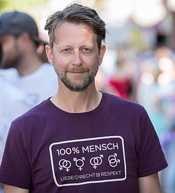 Helge Ytterøy L'orange, leder i Åpne Høyre og visepresident i European Center-Right LGBT+ Alliance.