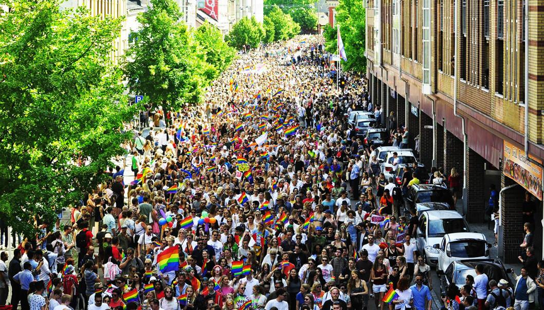 Oslo Pride-parade 2017. Foto: Reidar Engesbak.