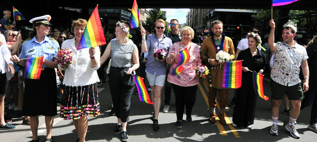 Ny paraderekord for Oslo Pride
