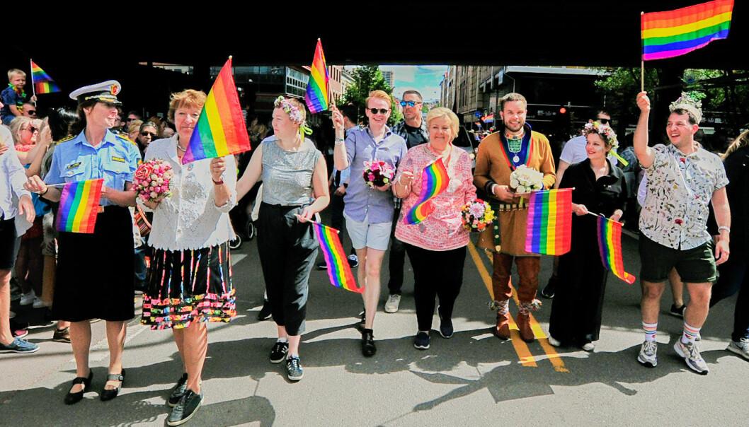 Oslo Pride parade 2019. Foto: Reidar Engesbak.