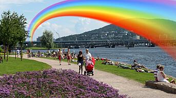 Tidenes første Drammen Pride