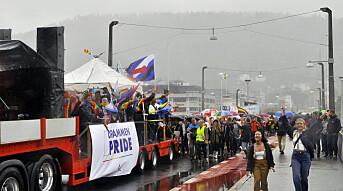 Drammen Pride trosset regnet
