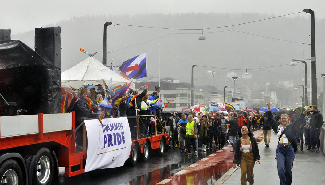 Drammen Pride. Foto: Reidar Engesbak.