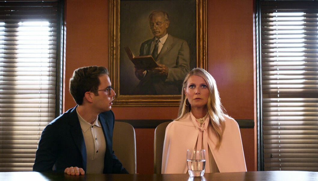 Ben Platt og Gwyneth Paltrow i «The Politician». Foto: Netflix.