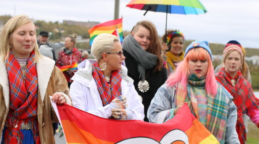 Saepmie Pride i Tråante