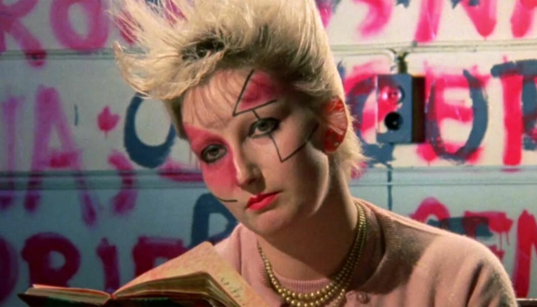 Punkikonet Jordan Mooney i Derek Jarmans film «Jubilee».
